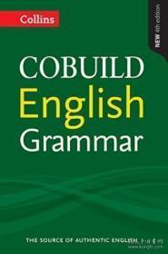 柯林斯英语语法 英文原版 COBUILD English Grammar-