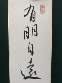 日本回流字画  色纸 短册  1656