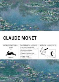 Claude Monet: Gift & Creative Paper Book Vol 101 (Paperback)-克劳德·莫内:《礼物与创意》第101卷(平装本)