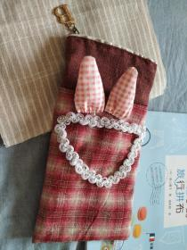 手工笔袋日本布厚实款有质感