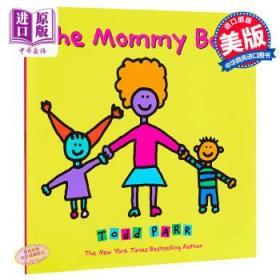 英文原版 The Mommy Book 情商教育认知启蒙 纽约时报畅书作家Todd Pa-