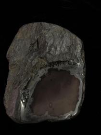 旧藏名家款端砚子石