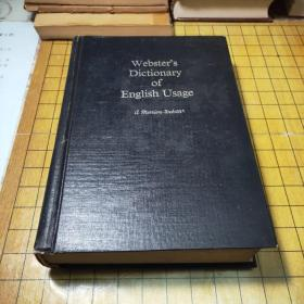 websters dictionary of the english  unabr(韦氏英语惯用法词典)16开精装