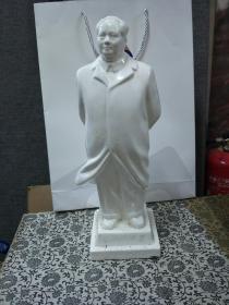 文革时期毛主席瓷像 永久保真