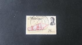 毛里求斯邮票(动物):1969 海洋生物 1枚