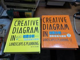 创意分析-图解景观与规划 + 创意分析-图解景观与规划 2   【2册合售】