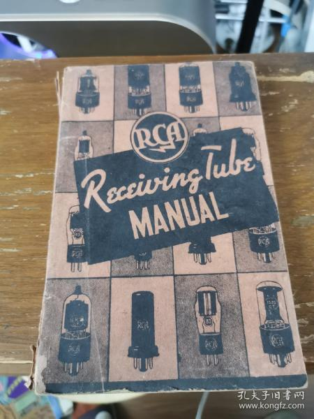 民國RCA RECEIVING TUBE MANUAL 接收管手冊