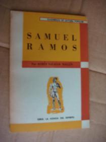 Samuel Ramos - Por RUBEN SALAZAR MALIEN 西班牙语原版 同济大学建筑学家 李德华藏书