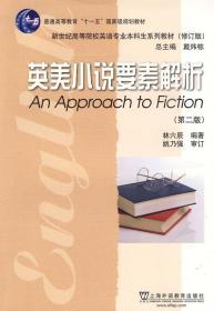 二手英美小说要素解析林六辰上海外语教育出版社9787544613491