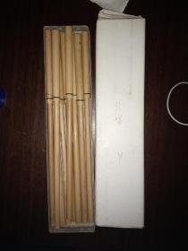 老毛筆 出口創匯時期的毛筆,9支,made in china!