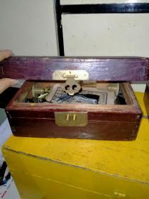 老式小号木盒
