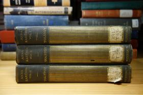 1904年 3卷 Anna Karenina  托尔斯泰 安娜卡列尼娜  书顶刷金