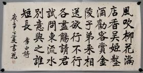 北京市书法家协会副主席 【张书范】书法