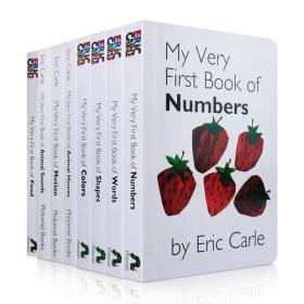 原版绘本Eric Carle启蒙认知:My Very First系列8本连连看纸板书