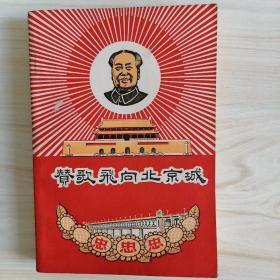 赞歌飞向北京城 有林题词江青插图