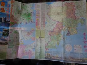 青岛交通旅游图(2003年)