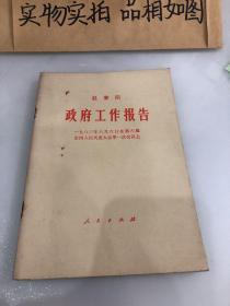 赵紫政府工作报告