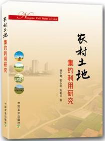 农村土地集约利用研究 骆东奇, 石永明, 朱莉芬著 9787109171275