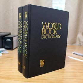 正版现货,The World Book Dictionary, (Volume A-K and Volume L-Z),2015版,世界图书词典 全两卷。