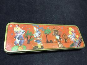 杂技动物文具盒-赠送铅芯