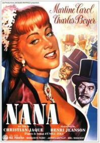 娜娜 民国三十六年《娜娜》讲述娜娜被游艺剧院经理看中,主演《金发维纳斯》获得成功,巴黎上流社会的男士纷纷拜倒在她的石榴裙下。她先后由银行家斯泰内和皇后侍从米法伯爵供养,成为巴黎红极一时的交际花,把追求她的男人的钱财一口口吃掉,使他们一个个破产,有的还命赴黄泉。她最后因患天花病死,时值第二帝国即将在普法战争中崩溃,而娜娜一生的兴衰,则成为第二帝国腐化堕落的社会的写照。小说改编为电视剧,电影多次热播。