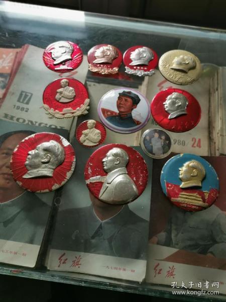毛主席像章商丘展覽館之一