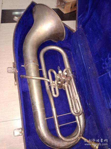 白銅大樂器  長80 x 26