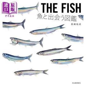 鱼图鉴 和鱼相遇 日文原版 THE FISH 鱼と出会う図鑑-