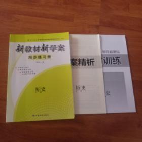 新教材新学案同步练习册  历史必修1