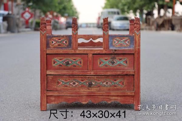 櫸木梳妝盒。木紋漂亮。做工精細,整體大方,上檔次。