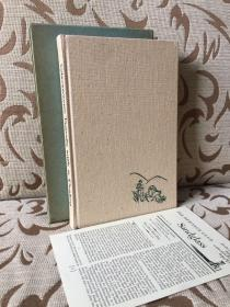 Travels with a donkey by Robert Louis Stevenson -- 斯蒂文森《携驴旅行记》Heritage 1957出品 麻布面精装 书盒与sandglass俱全