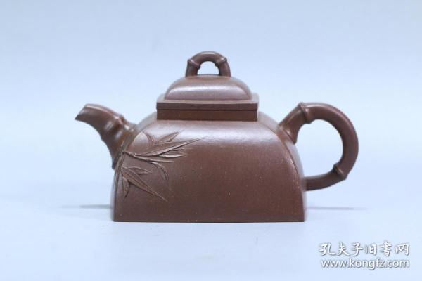 舊藏 老紫砂壺