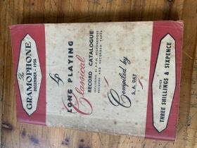 5265:THE GRAMOPHONE 1956  留声机 目录
