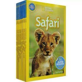 【西文优选】。此套书籍为初级阶段学习。入门阶动物篇20册美国国家地理杂志National Geographic KIDS pre-Readers英文原版儿童百科全书分阶阅读全彩读物