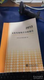 2013文化发展统计分析报告