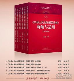 民法典2020年版新版 中华人民共和国民法典释解与适用丛书共5卷