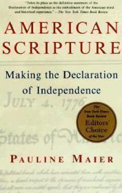 American Scripture:Making the Declaration of Independence美国独立宣言是如何诞生的,纽约时报书评编辑选择奖年度图书,英文原版