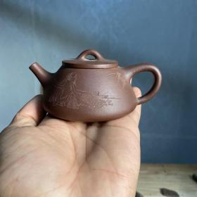 精品宜兴紫砂壶小容量全新未使用01819