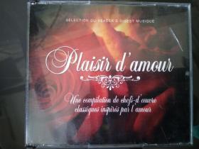 愛情的喜悅 Plaisir  damous  法語金曲  5CD