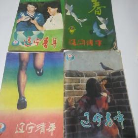 《遼寧青年》,1986-1-3-6和1987半月刊第二期