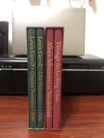 《爱丽丝漫游仙境、镜中奇遇记+Lewis Carroll作品集》Folio Society 精装本
