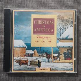 christmas in america-圣誕音樂/輕音樂-美版正版CD