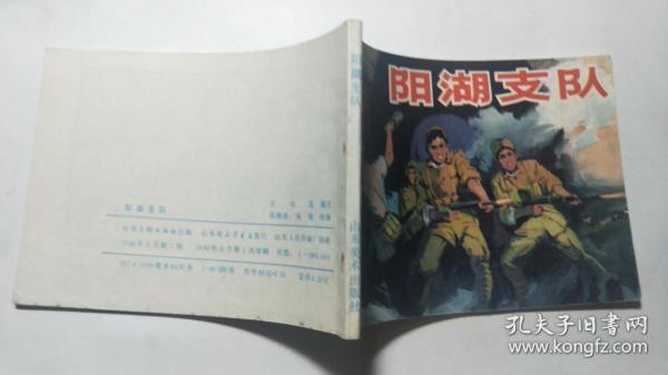 連環畫《陽湖支隊》