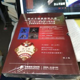 陈式太极拳教学大全:陈小旺大师演讲12项工法全球最具有影响力的武术九段大师