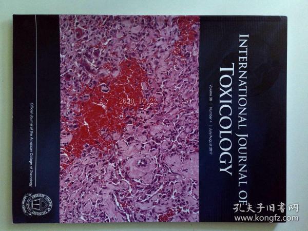 INTERNATIONAL JOURNAL OF TOXICOLOGY 07-08/2017 國際毒理學學術期刊