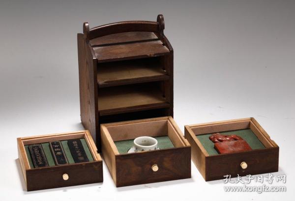 【名稱】:木寶盒 【類別】:擺件