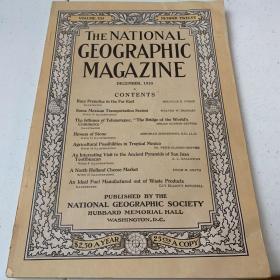 美國發貨national geographic美國國家地理1910年12月遠東,墨西哥,荷蘭