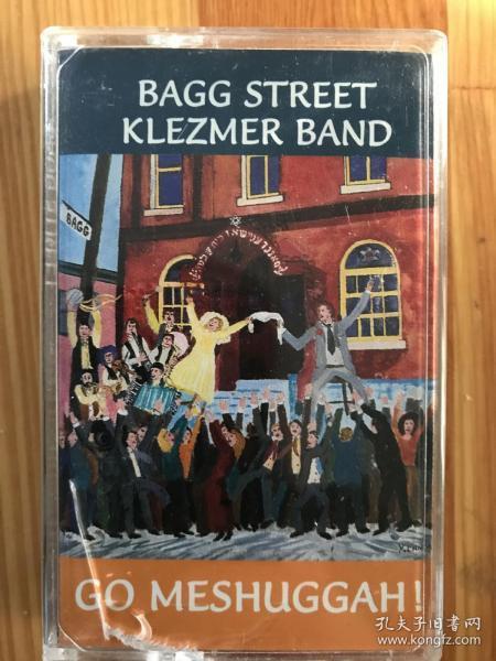 bagg street klezmer band,猶太klezmer音樂,原版磁帶未打口音質完好品相新