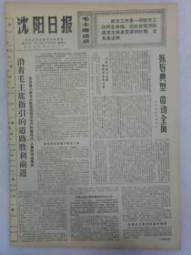 (沈阳日报)第920号