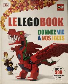 精装法语  le lego book donnez vie a vos idees 乐高书籍给了你的想法